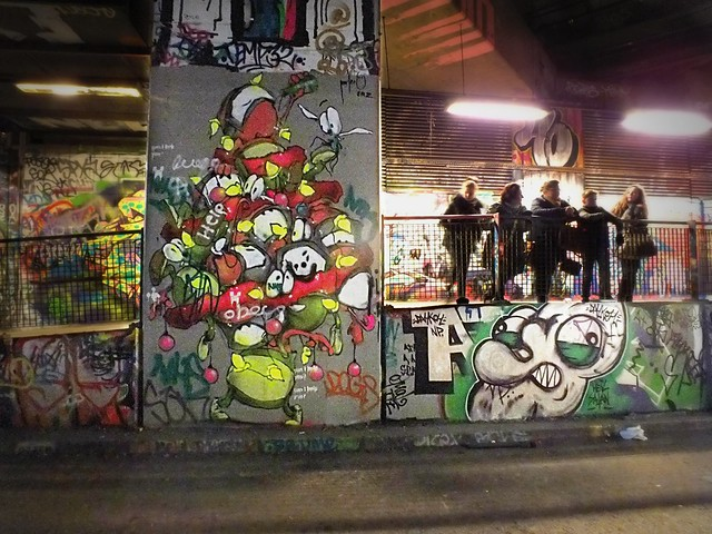 Graffiti and Street Art in Leake Street