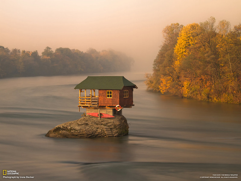 In the Middle Of The Drina, Serbia