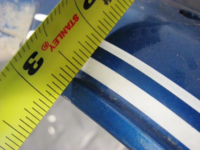 Rear Fender Pinstripe Measurement