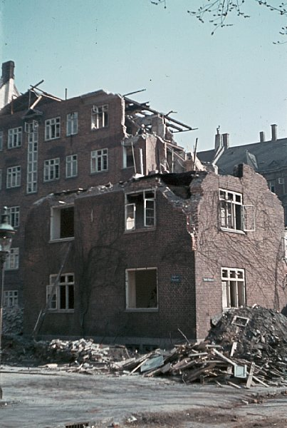 The French school which was mistakenly bombed, and the surrounding neighborhoods. Sønder Boulevard 106. Photo: Jørgen Nielsen