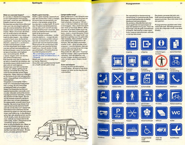 """Spoorboekje 19791980_30_31 """"Grammatica en uitspraak van pictogrammen"""""""