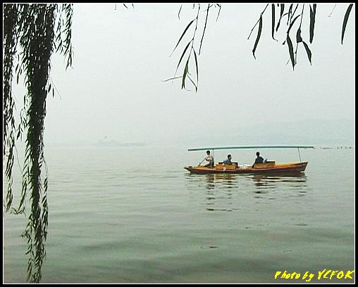 杭州 西湖 (其他景點) - 606 (西湖十景之 柳浪聞鶯 西湖上的小遊船)