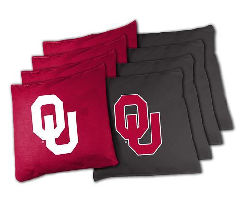 Oklahoma OU Sooners Cornhole Bags