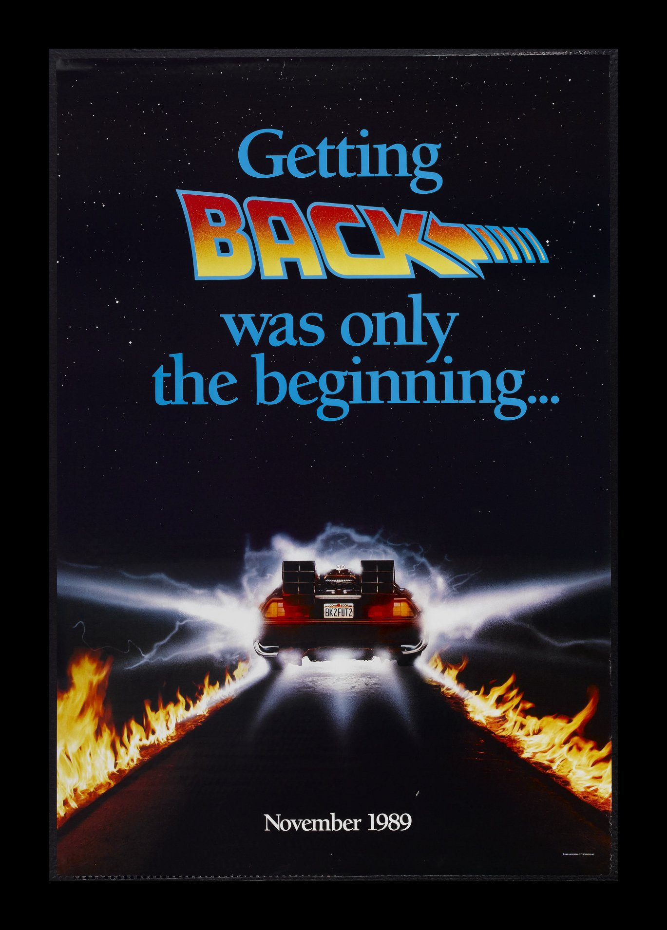 Back to the Future Part II (1989) | Amazing Movie Posters