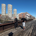 Hudson River Waterfront Walkway, West New York, New Jersey