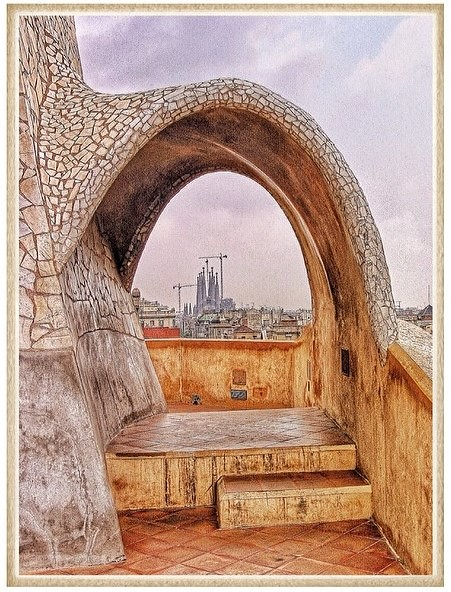 Casa Mila and the Sacred Family Cathedral