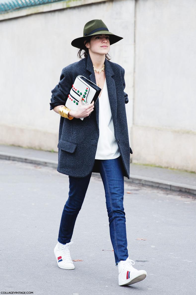 Paris_Fashion_Week_Fall_14-Street_Style-PFW-Green_Hat-Man_Repeller-Dior-6