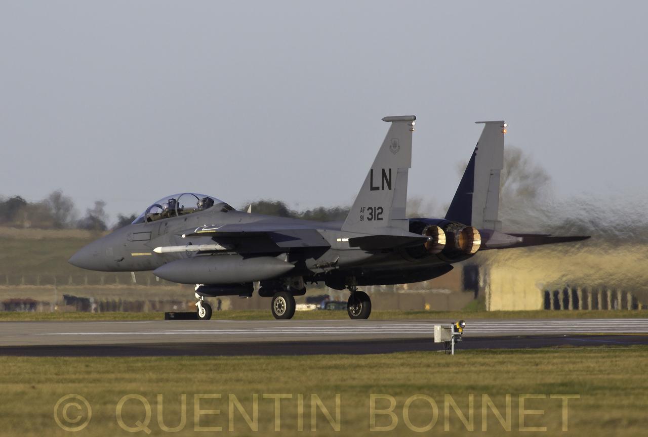 USAF McDonnell Douglas F-15E LN 91-303