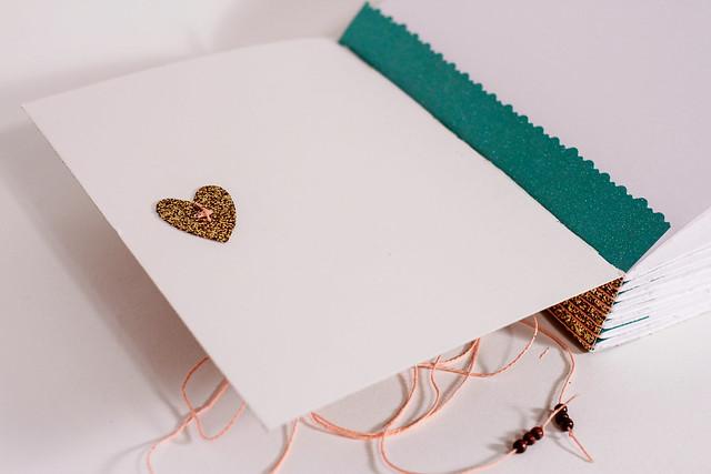 Custom Glitter Book