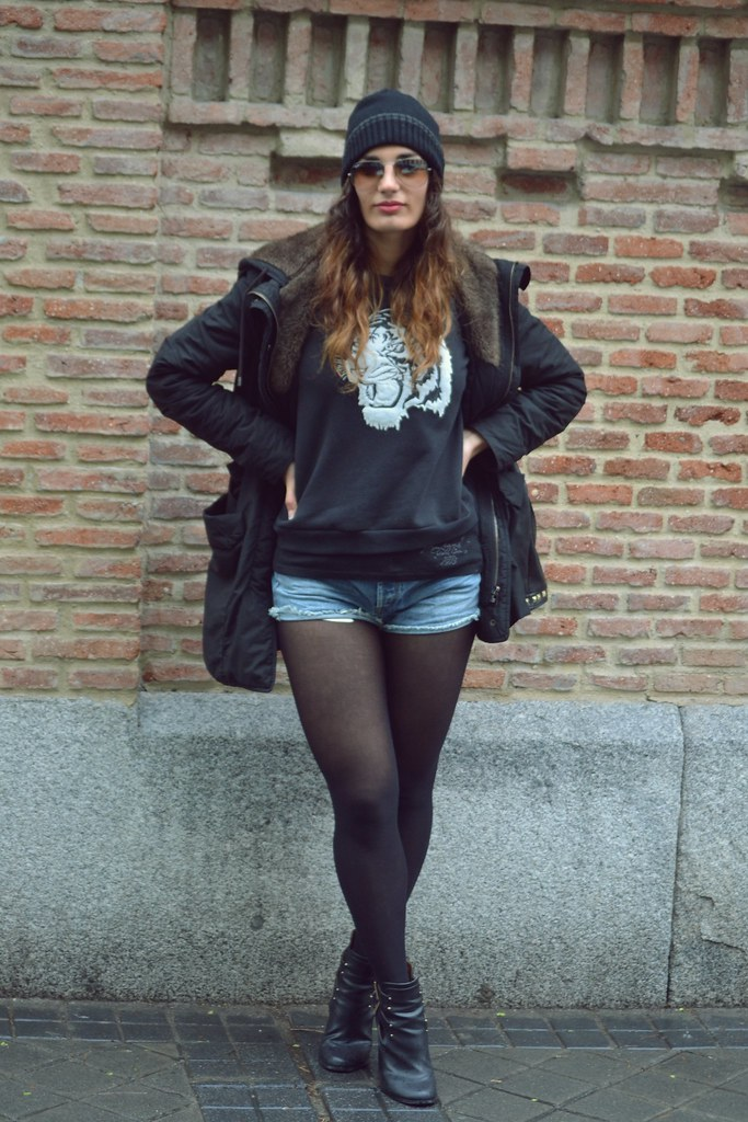 look shorts vaqueros