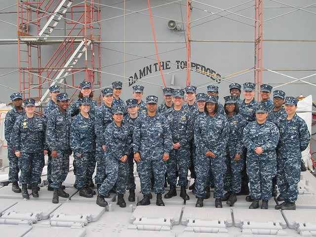 USS Mobile Bay Celebrates Women's History Month