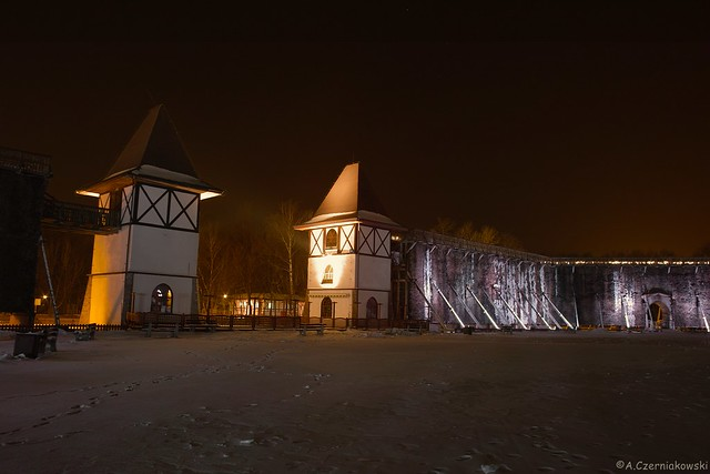 Graduation Towers - Tężnie w Inowrocławiu