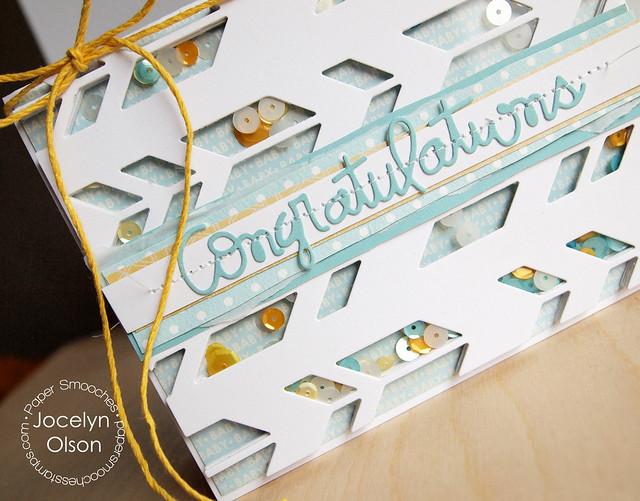 Congrats Shaker Card
