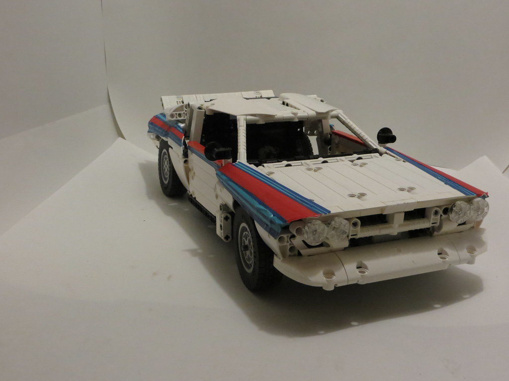 Moc 1 10 Lancia 037 Rally Car Lego Technic Mindstorms