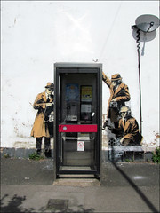 Spy Booth by Banksy