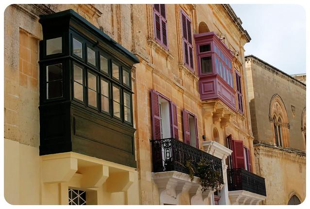mdina balconies