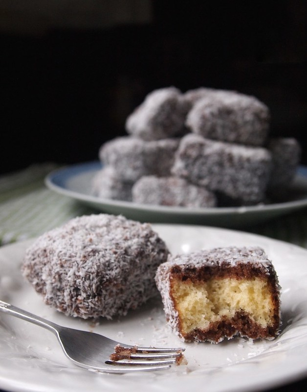 Homemade Lamingtons!