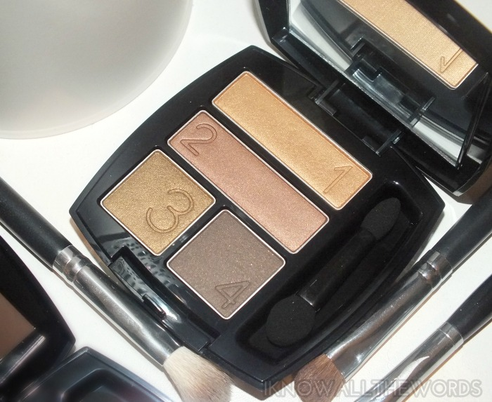Avon True Colour Eyeshadow Quads- Grin & Bare It (2)