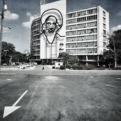 Ministry of Communications, Revolution Square, Havana