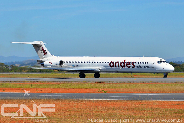 McDonnell Douglas MD-83 Andes LV-AYD