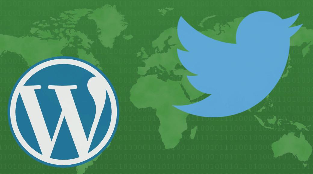 WordPressとSNS連携(Twitter編)