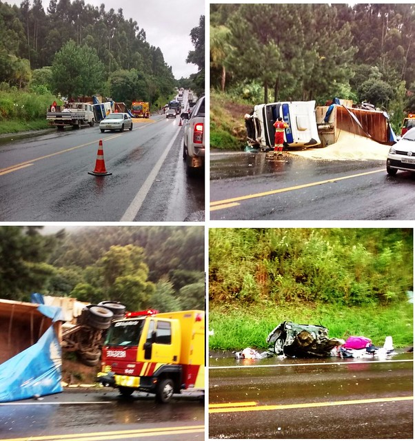 acidente rodovia ortigueira familia de marialva Biazoto