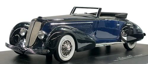 Automodello Duesemberg Graber 1934