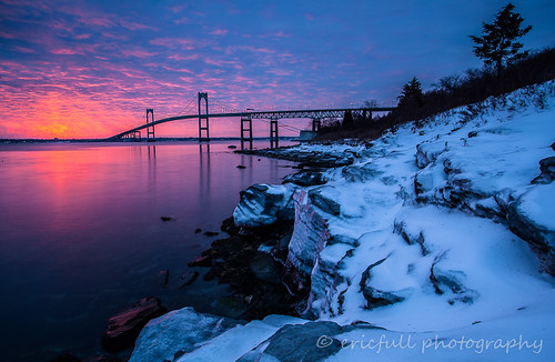 sunrise seascapes narragansettbay newportpellbridge fullimages ericfullphotography
