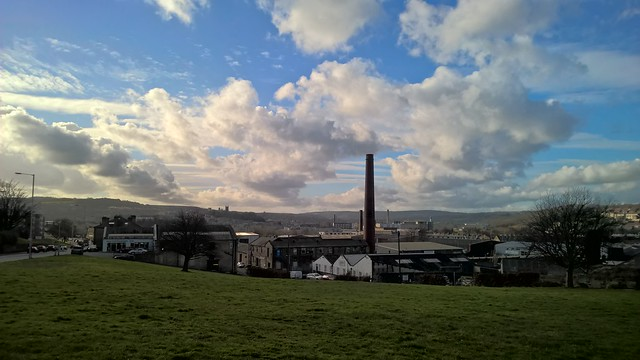 Looking across Shipley