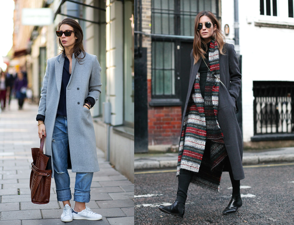 how-to-wear-flat-shoes-spring-winter
