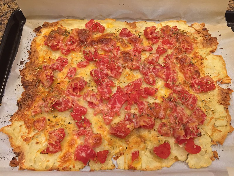 Potato Pie with Tomato and Fontina