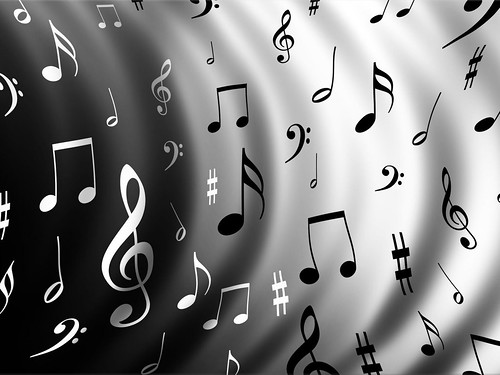 Music music notes wallpaper