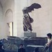 The Winged Victory of Samothrace displayed at the Louvre, after being plundered by ioannis_papachristos