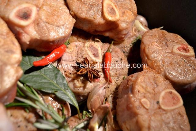 Jarret de Porc Caramélisé Sauce Au Vin Cuit © Ana Luthi 009