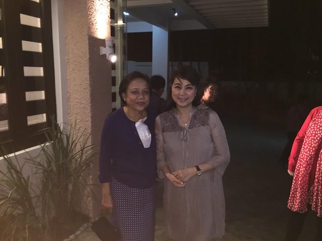 OMB with Senator Cynthia Villar