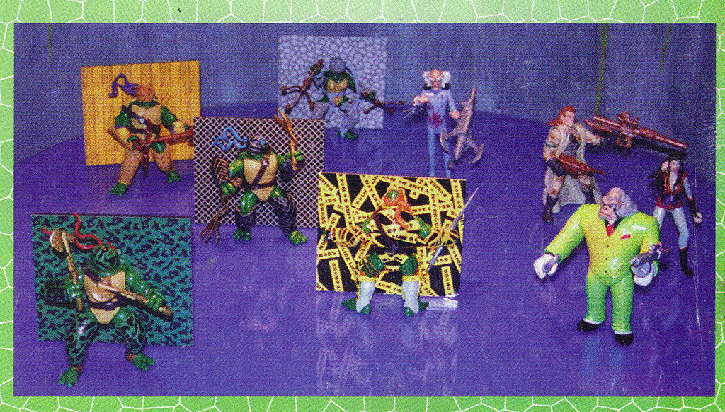 LEE'S TOY REVIEW #xx ::  pg.x TOY FAIR '98 - PLAYMATES'S 'ZORRO' & NT: THE NEXT MUTATION. Turtleflage & SHADOW NINJAS / 'TURTLEFLAGE' asst. (( xx 1998 )) by tOkKa