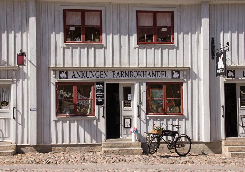 Gamla Linköping, bookstore