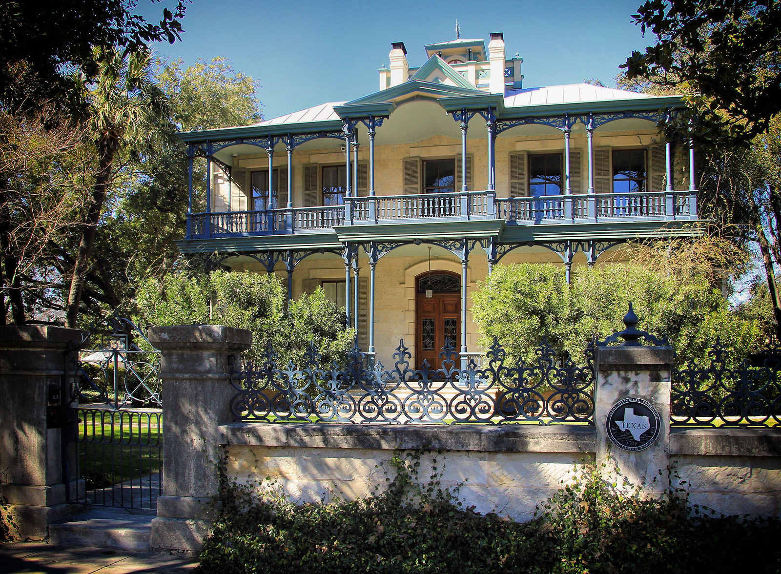 Carl Wilhelm August Groos House, San Antonio, Texas. Credit Larry D. Moore