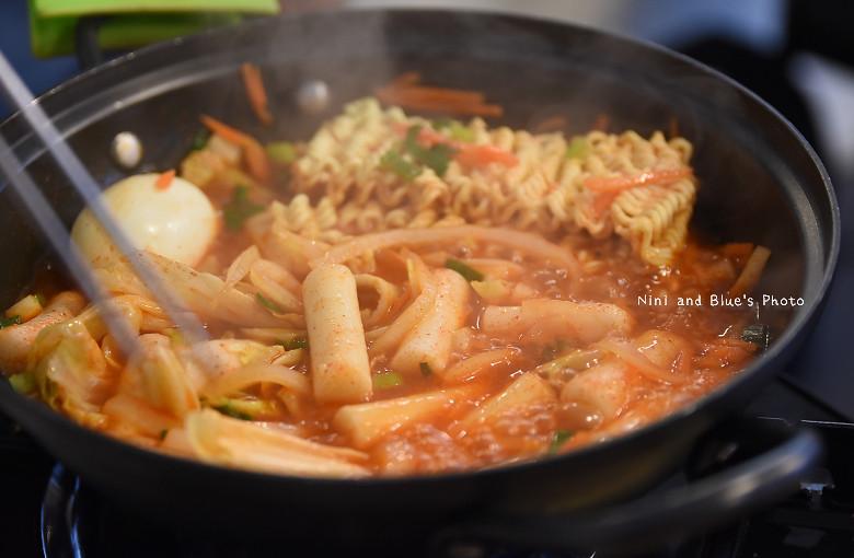 台中韓式料理一中街求求辣年糕菜單價位20