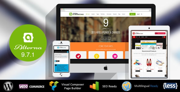 Alterna v9.7.1 - Ultra Multi-Purpose WordPress Theme