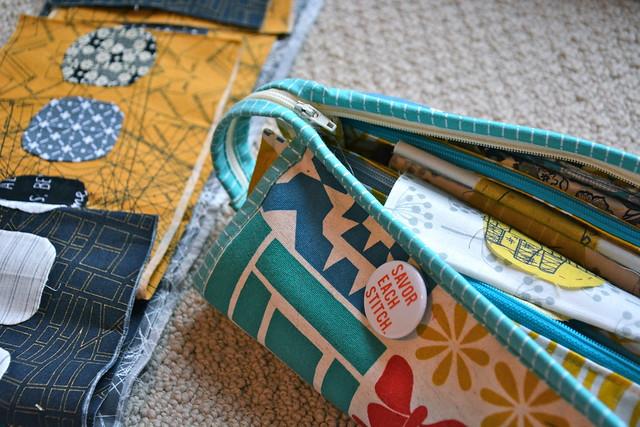Sew Together Bag / Aerial Grove