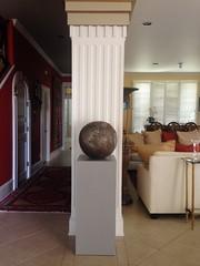 Dove Gray Pedestal