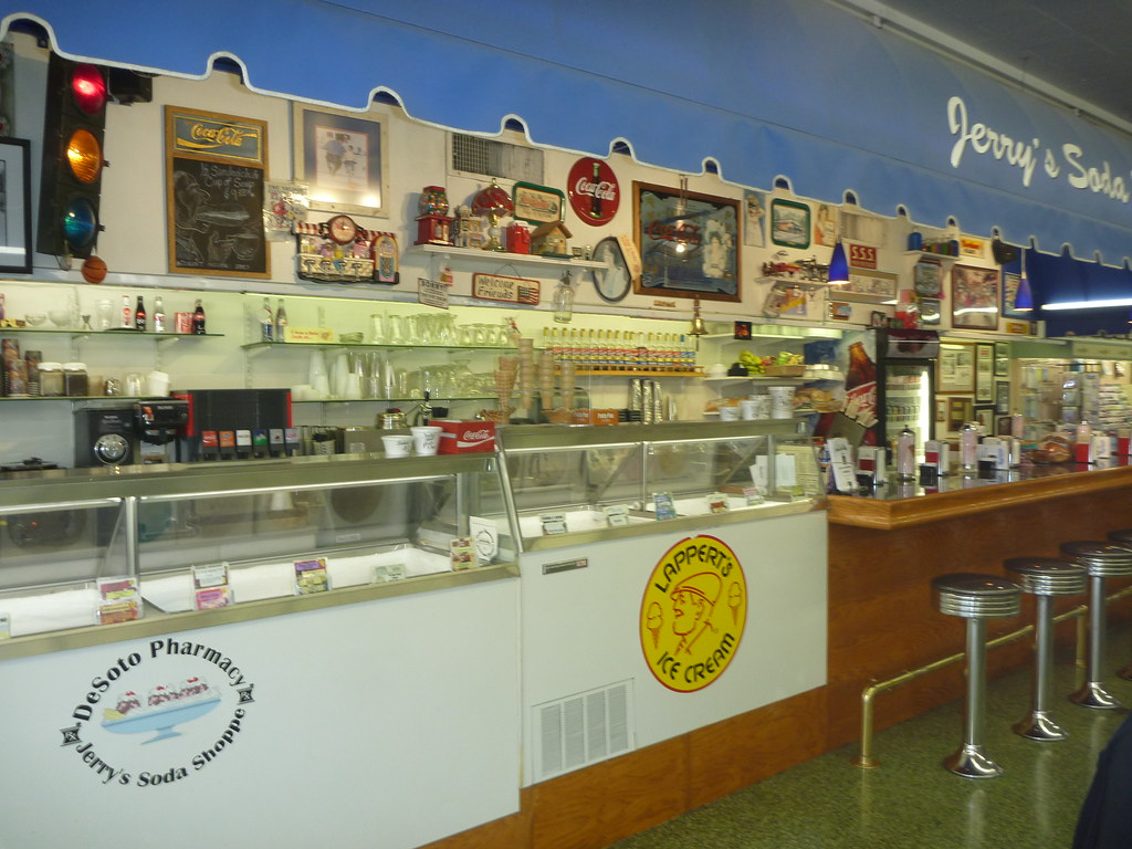 Desoto Pharmacy & Soda Shoppe Retro Roadmap Photos by Keith Valcourt