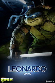 【完整官圖、販售資訊更新】Sideshow Collectibles【李奧納多】Teenage Mutant Ninja Turtles Leonardo 限定版雕像作品