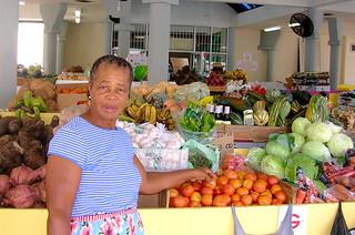 Bridgetown - Woman at Market