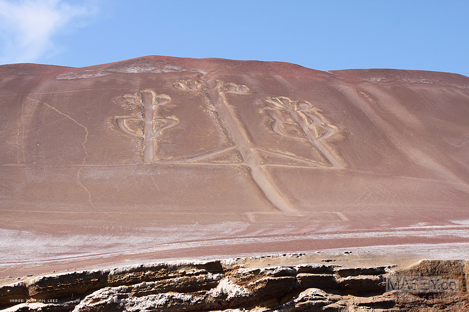 'El Candelabro' - Paracas Peninsula, Peru
