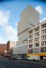 USA, New York, exterior view of the New Museum designed by SANAA by Michaël Jacobs