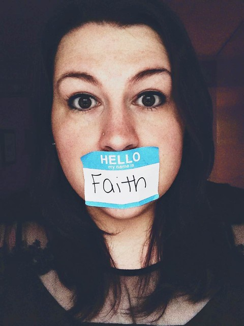 Hello, my name is Faith