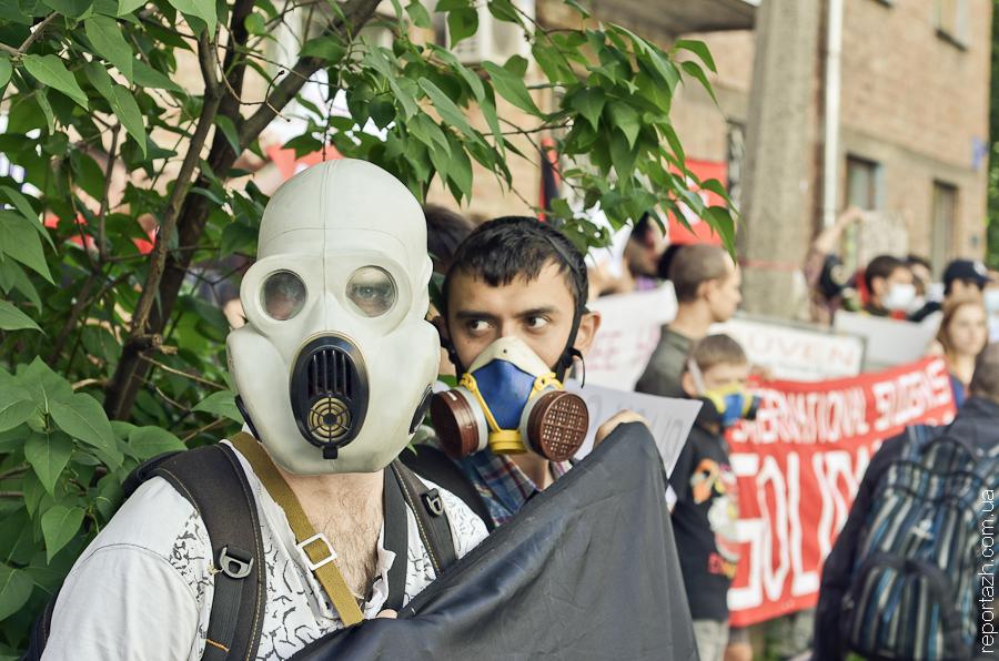 Акція солідарності з турецьким народом у Києві