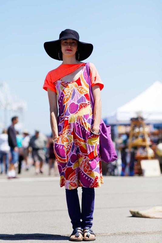liz_af_1 street style, street fashion, Alameda Flea Market, Quick Shots, women,